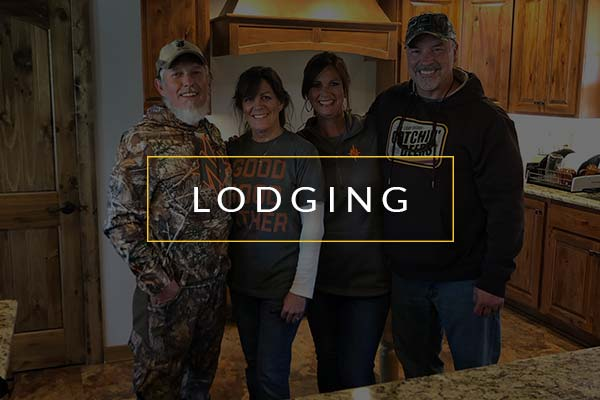 Lodging at Premier Outfitters
